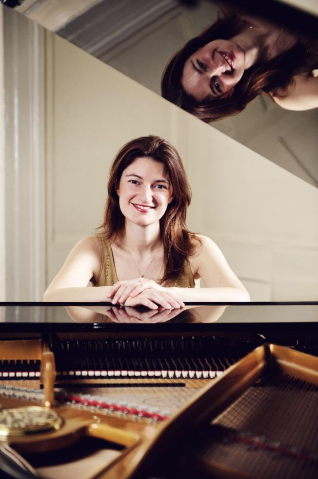 Yeovil Express: PIANIST Emma Abbate.