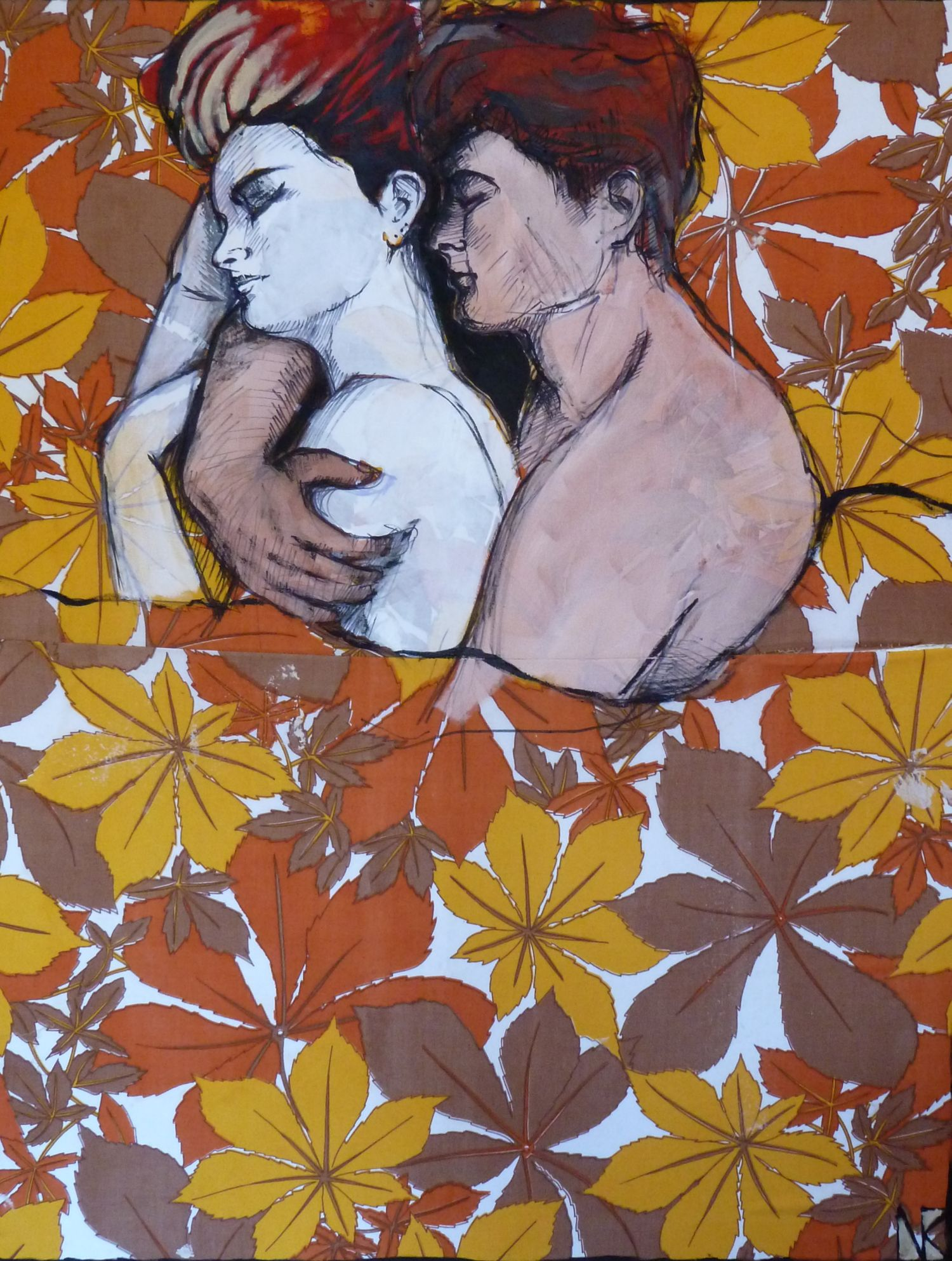 'LOVERS' by Nina Kleinzeller.