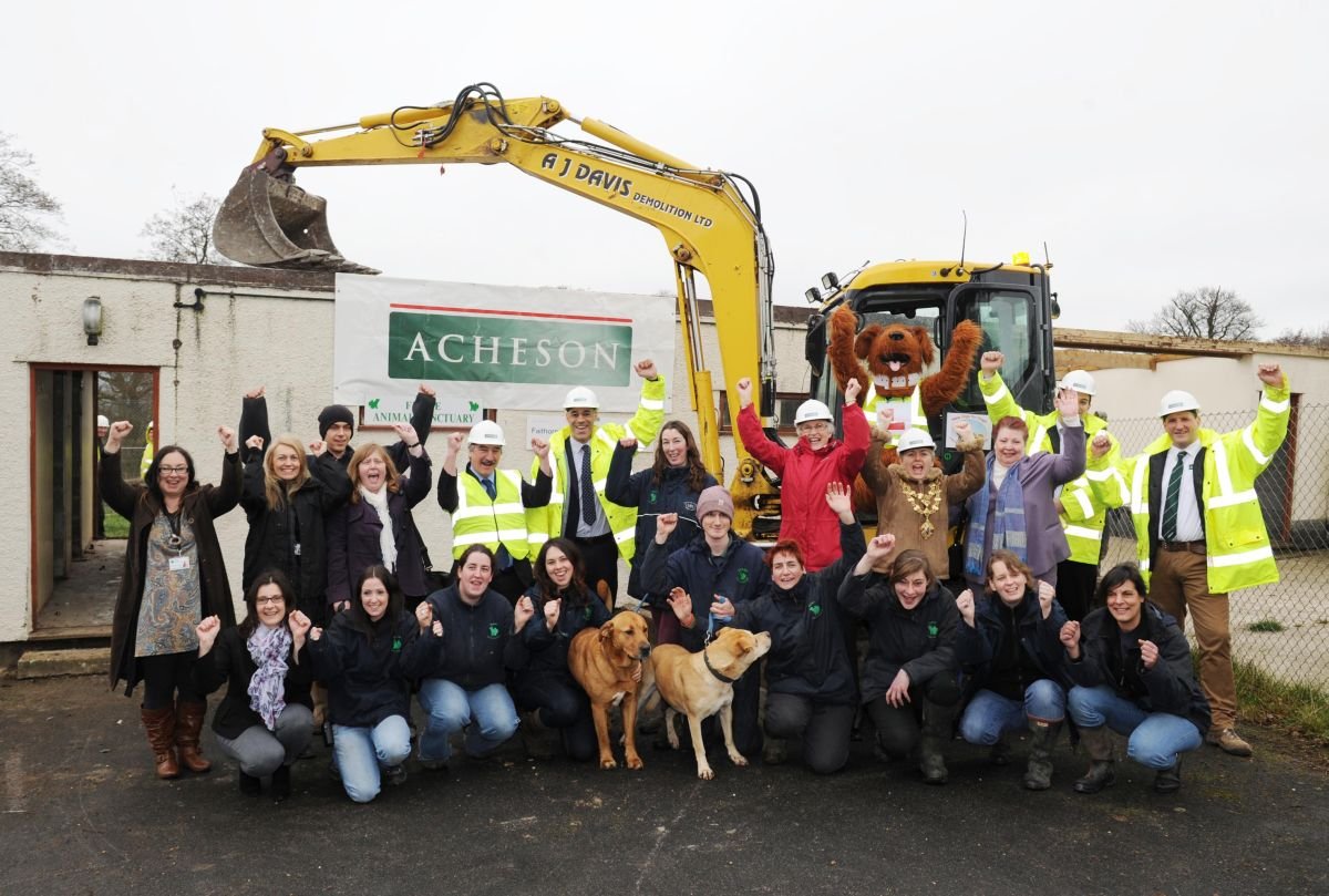 £1million for new digs for dogs at Ferne Animal Sanctuary