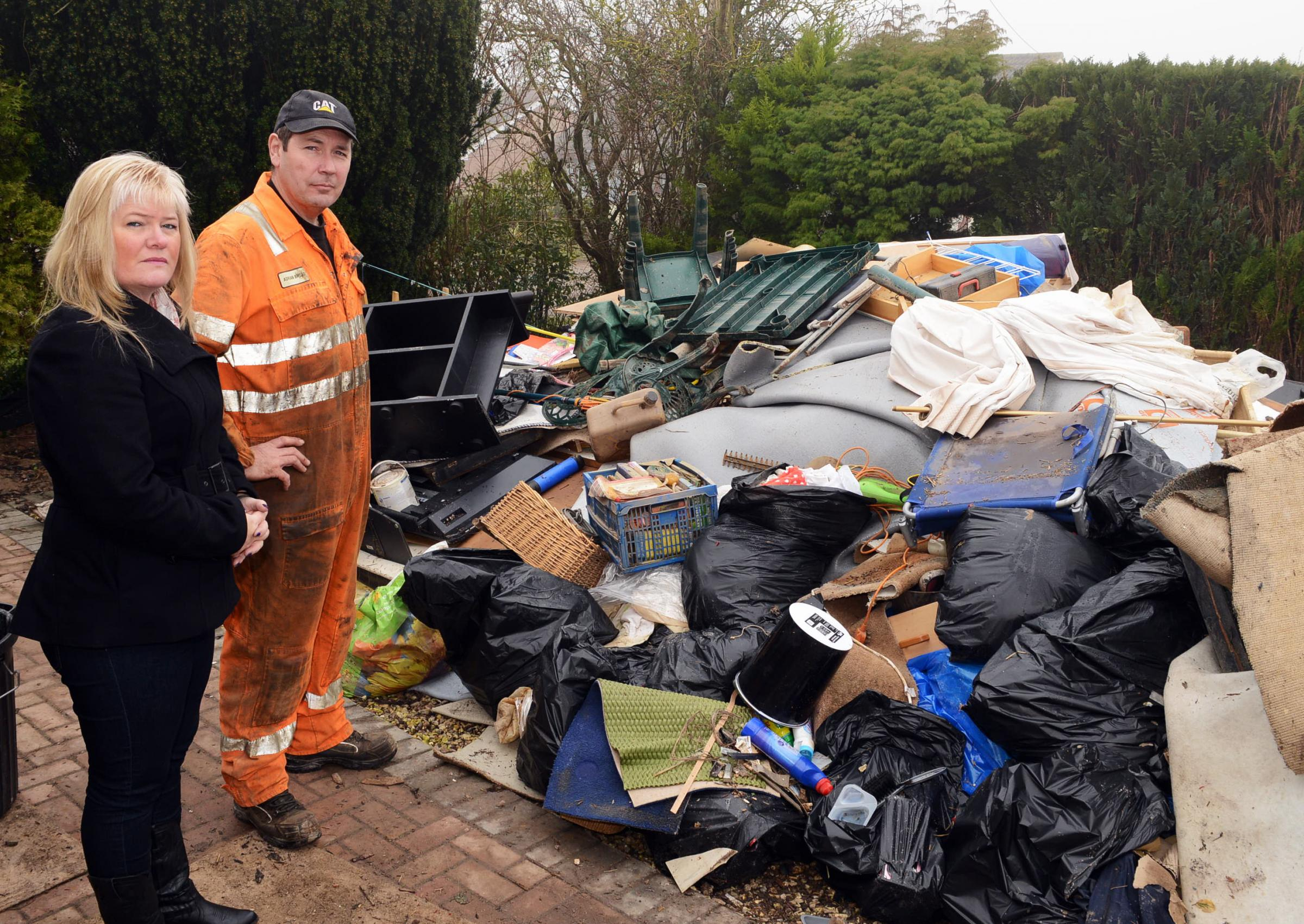 FEATURE: Moorland clean-up continues as residents reveal true damage of floods