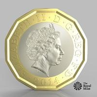 Yeovil Express: The new one pound coin announced by the Government will be the most secure coin in circulation in the world (HM Treasury/PA)