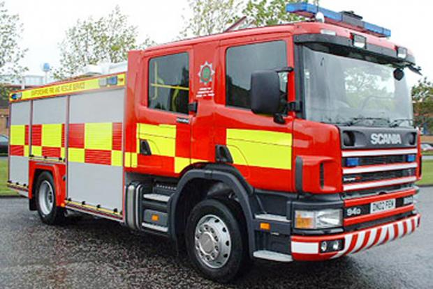 Possible arson of 4x4 near Yeovil