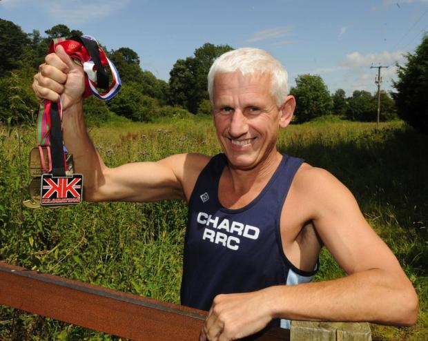 Chard marathon man set himself 100 Club challenge