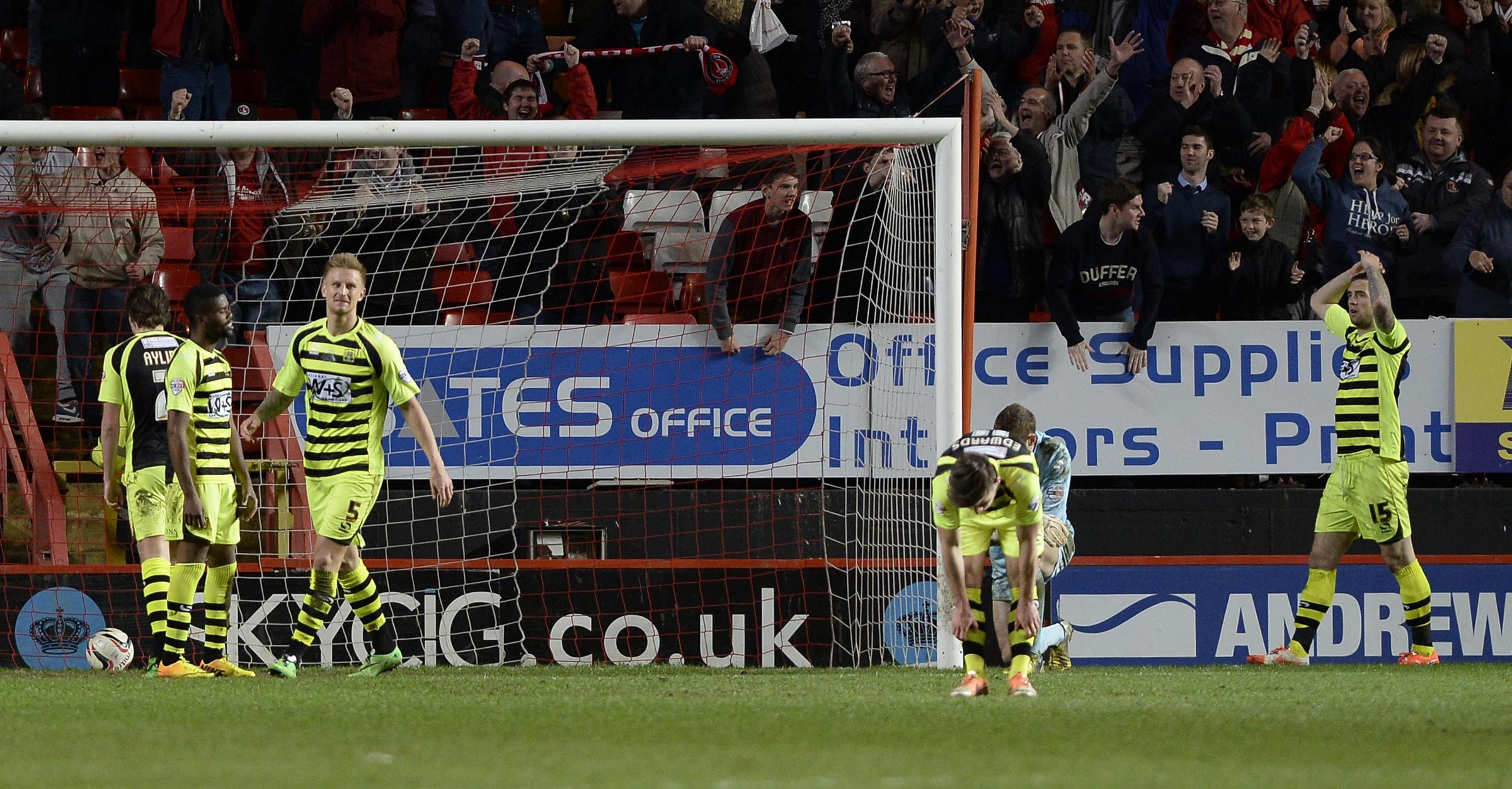 Sky Bet Championship: Charlton Athletic 3, Yeovil Town 2
