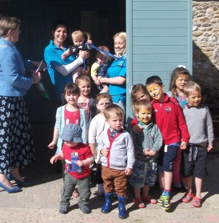 Easter fun at Little Boots Day nursery in Horton