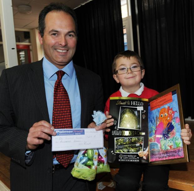 Chard student wins Easter egg competition