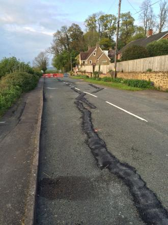 New Road in Ilminster will not re-open 'for at least three months'