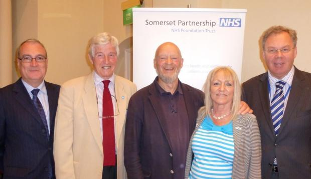Michael Eavis in Ilminster for Somerset Carers Day