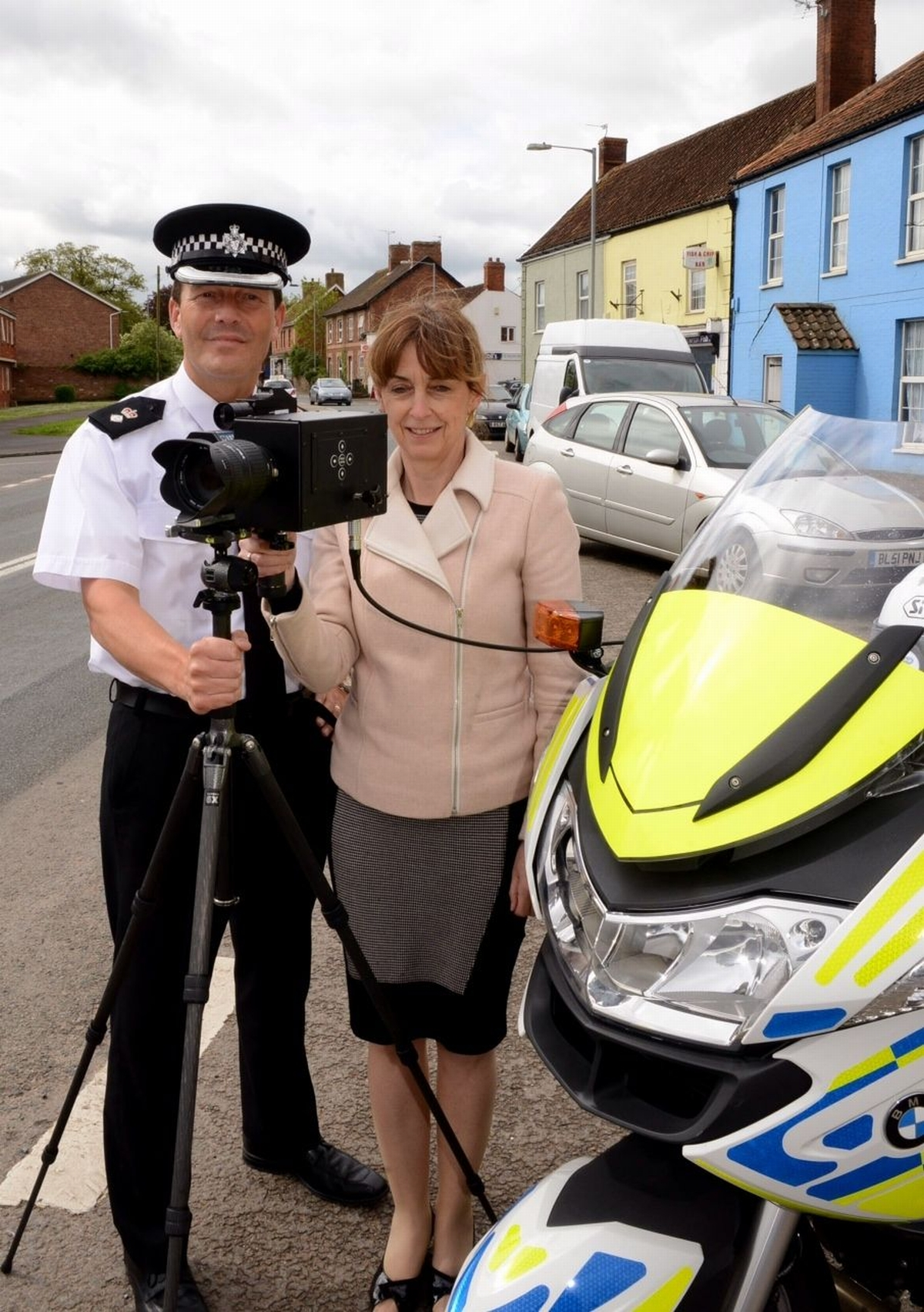 Motorbike cameras launched to improve road safety