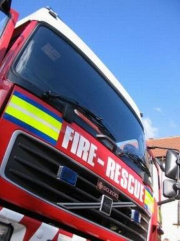 Yeovil Express: FIRE crews responded to a tractor fire in Chard