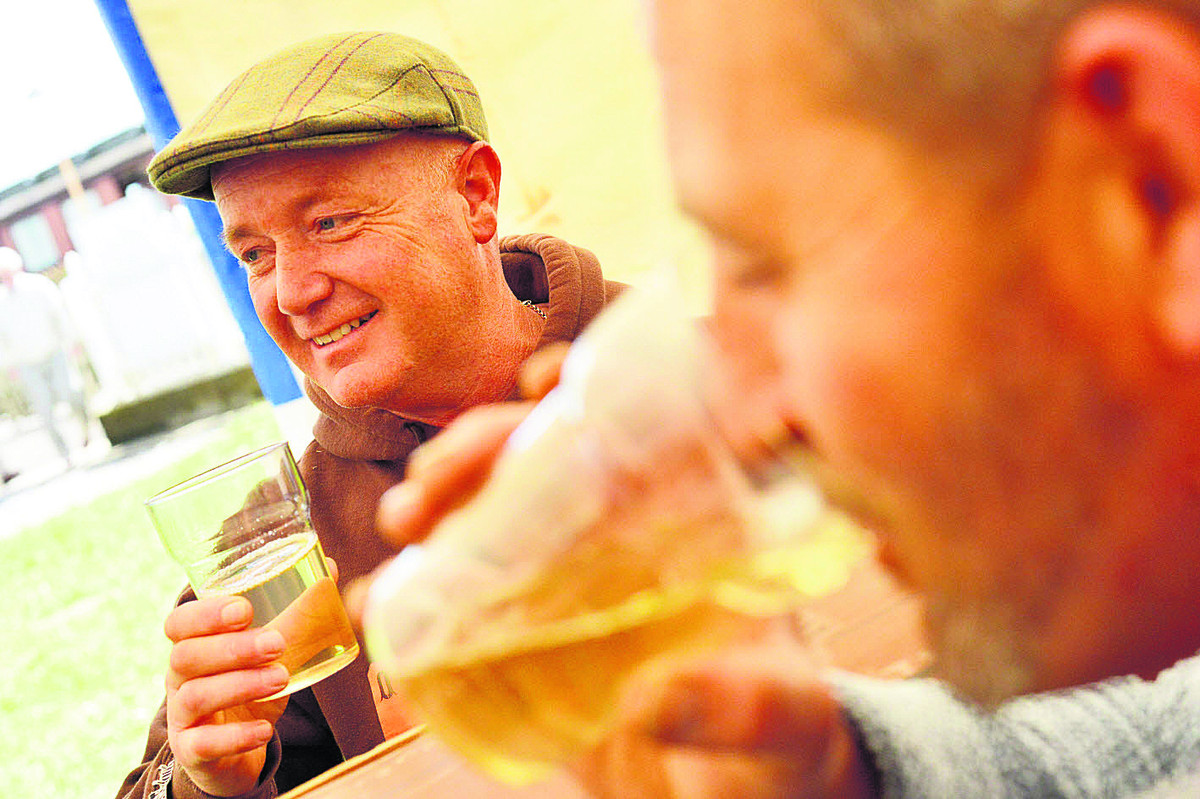 Beer and cider festival at Ilton Cricket Club