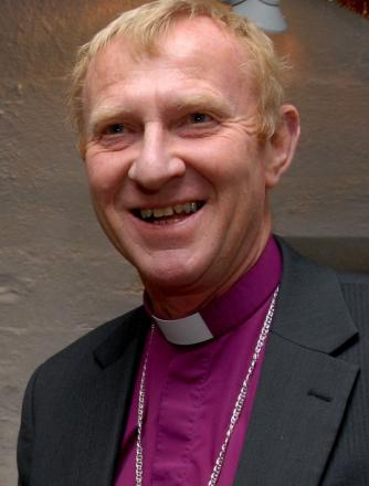The Bishop of Bath and Wells, the Rt Rev Peter Hancock.