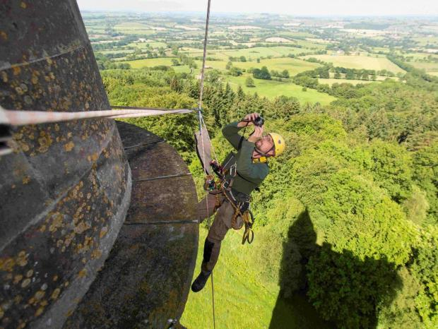Abseil raises over £13,000