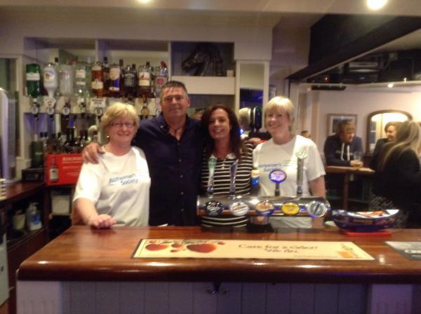 Darts competition raises £395 for Ilminster pair's Ben Nevis challenge