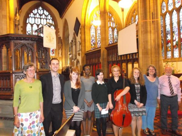 Yeovil concert at St John's raises money for Somerset flood relief.