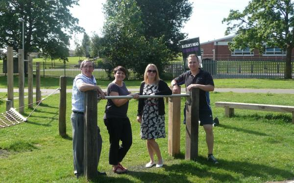 Trim trail in Yeovil to help people exercise