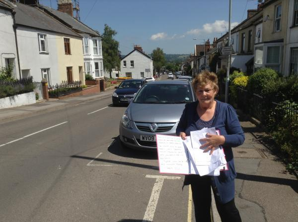 Petition launched to curb speeding in Chard