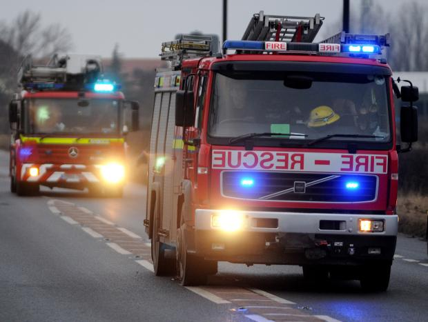 Hedge Fire in Yeovil