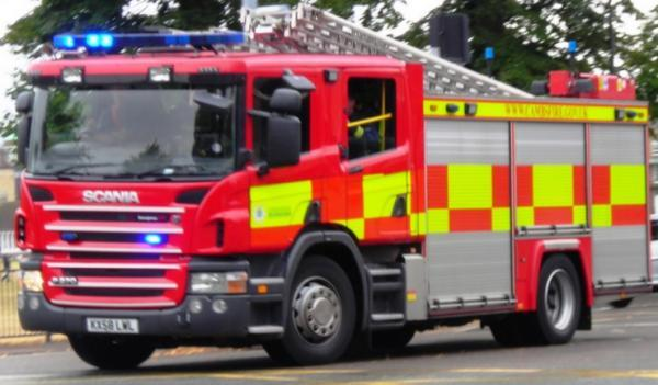 Chimney fire in Thorncombe