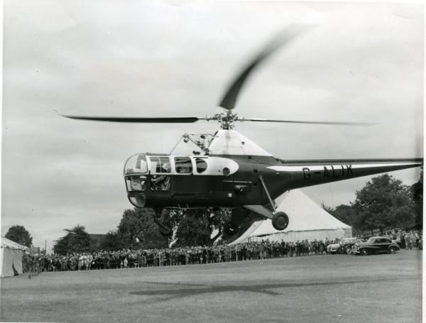 A WESTLAND Helicopter from 1954.