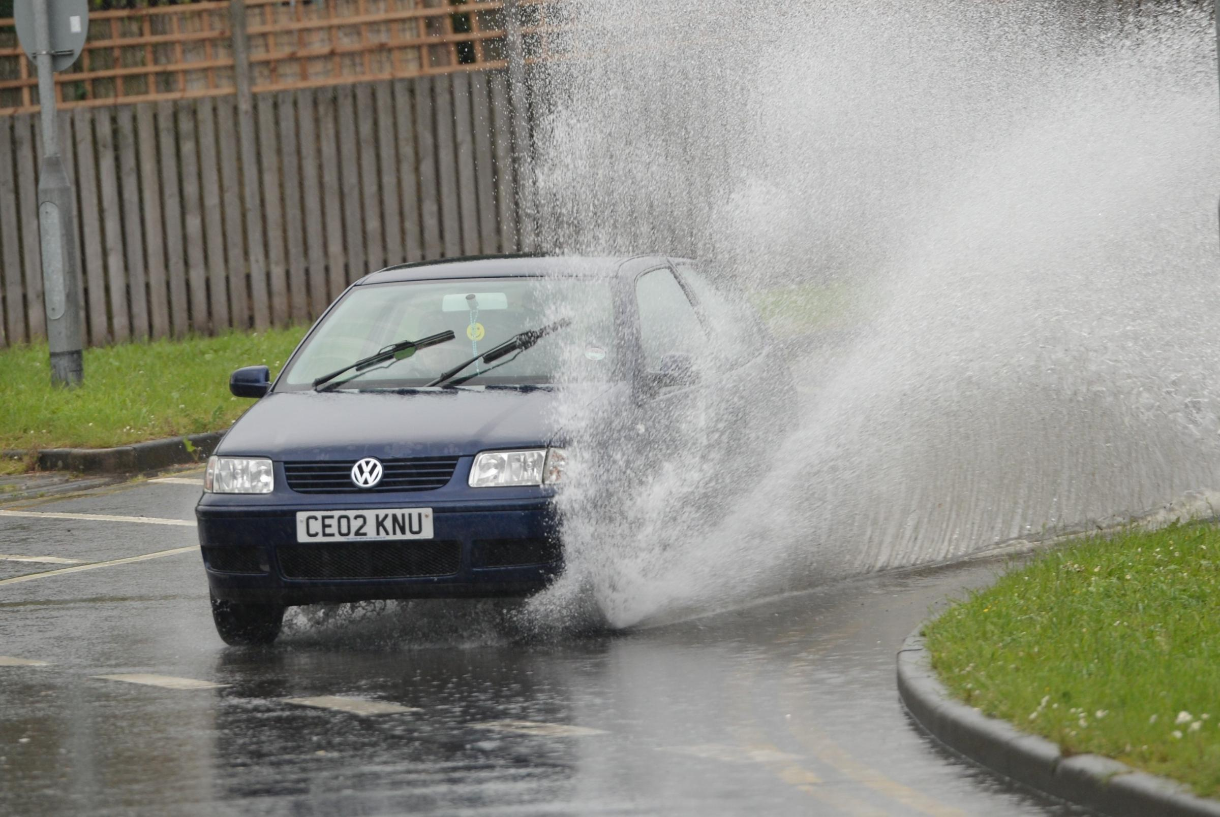 Heavy rain and thundery downpours weather warning across South Somerset