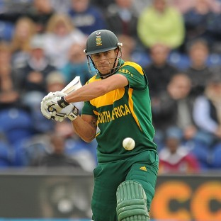 South Africa's Faf Du Plessis, pictured, hit out against Australia