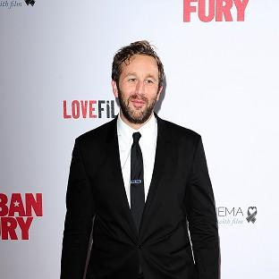 Chris O'Dowd is often suited and booted a