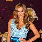 Yeovil Express: Caroline Flack attending the launch of Strictly Come Dancing 2014, at Elstree Studios, Borehamwood, Hertfordshire.