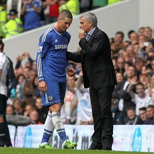Jose Mourinho, right, believes Fernando Torres, needed to leave Stamford Bridge
