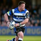 Yeovil Express: Bath prop David Wilson, pictured, is England's latest injury concern ahead of next weekend's Six Nations opener in Wales
