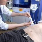Yeovil Express: A FibroScan uses sound waves to assess the degree of tissue damage