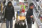 Theft at Yeovil Co-op: Do you know these two men? CCTV