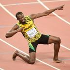 Yeovil Express: Usain Bolt clinched the sprint double with victory in the 200m on Thursday