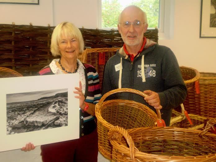 EXHIBITION: Basket-maker Paul Tuck and photographer Pauline Rook.