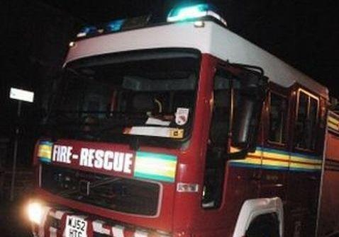 Fire service say cause of three vehicle fire was 'deliberate'