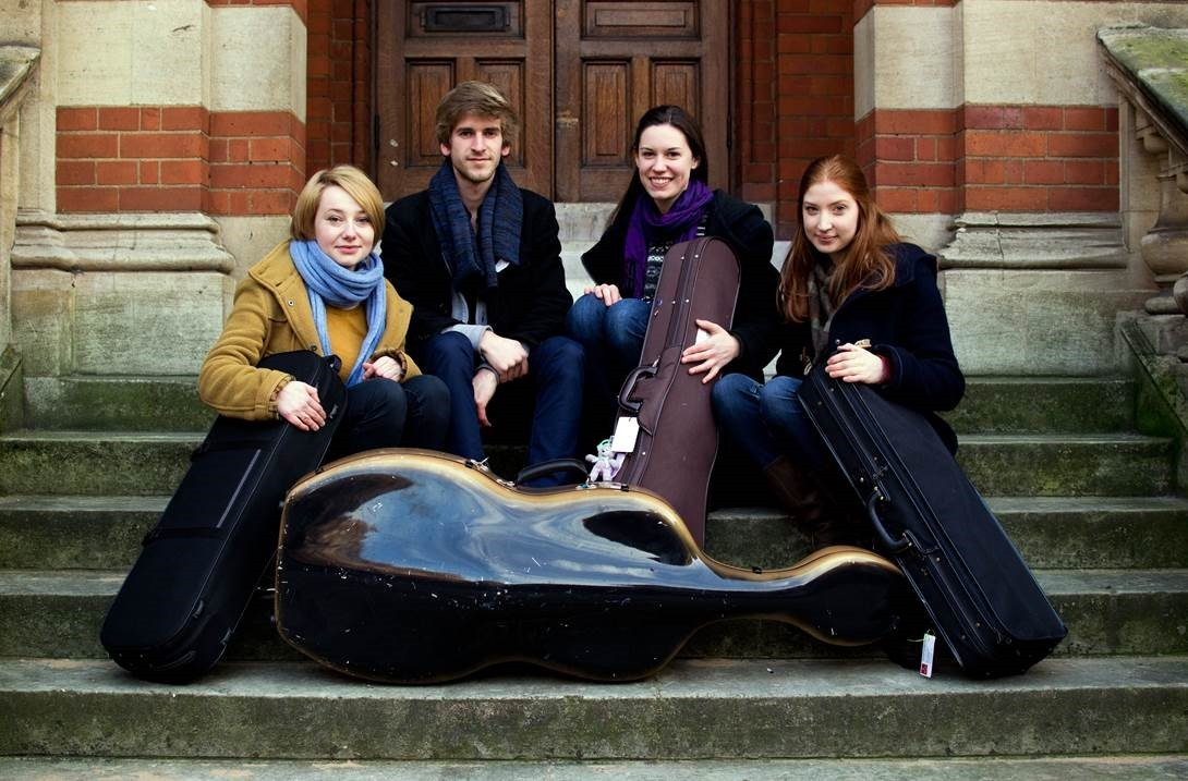 Consone Quartet's fresh faces take to the stage in Ilminster
