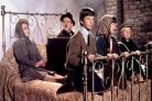 Bedknobs And Broomsticks cast reunited... on a bed