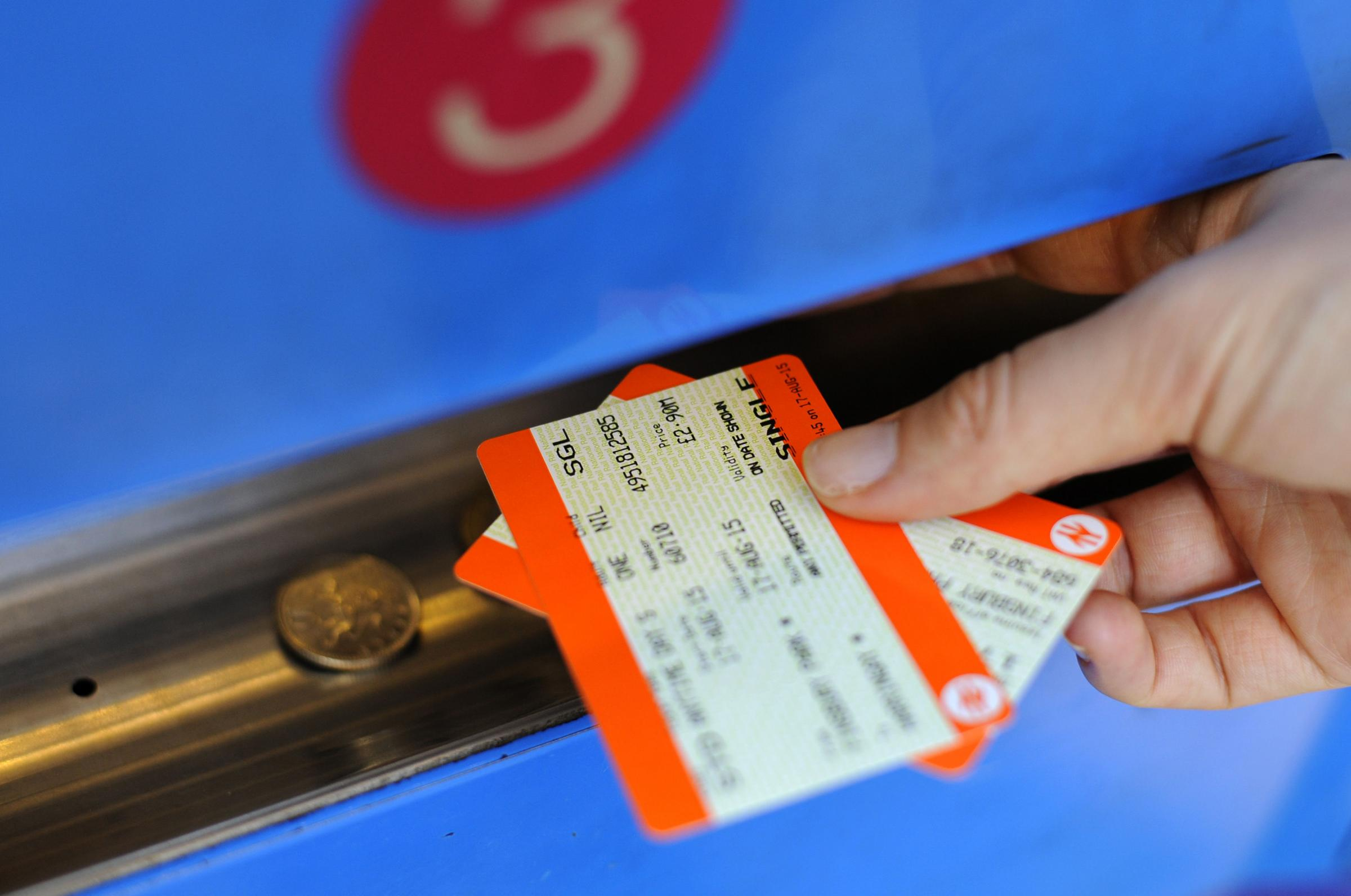 COSTLY: Travelling by train can be an expensive and confusing business