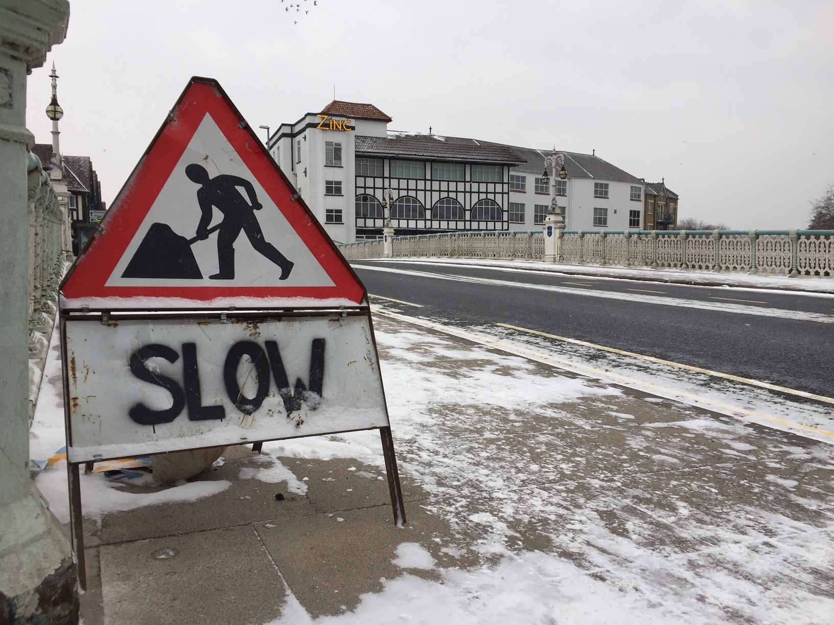OVERSPEND: Andrew Turner, the county's strategic manager from highways, said heavy snowfall across Somerset in late February and early March had led to higher staff costs and the need to buy in more salt
