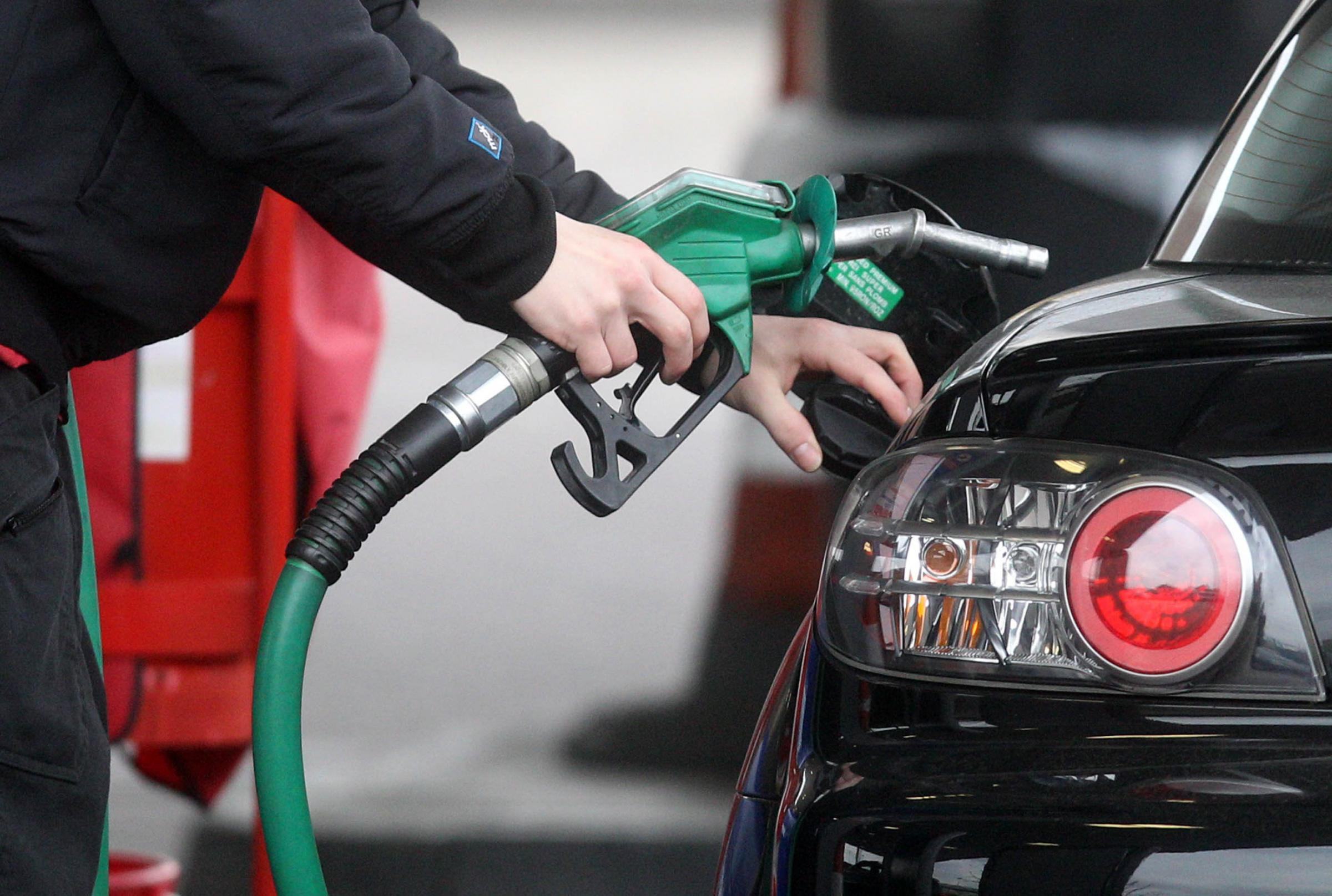 RISING AGAIN: Fuel prices. PICTURE: Lewis Whyld/PA Wire