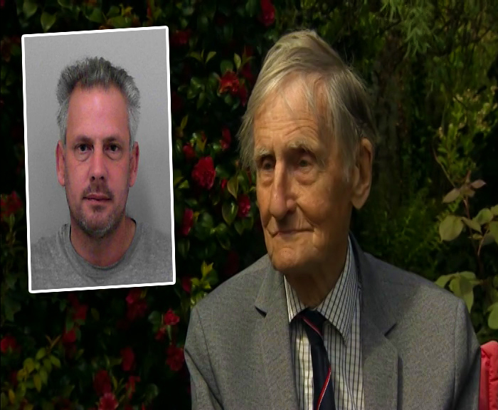 ORDEAL: Jim Booth was attacked by Joseph Isaacs, inset