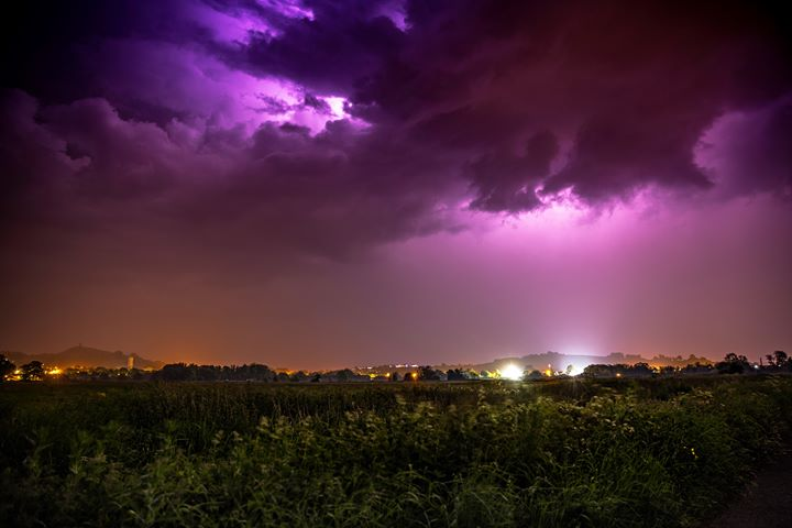 DRAMATIC: Mike Jefferies, Somerset Camera Club, captured this in Glastonbury
