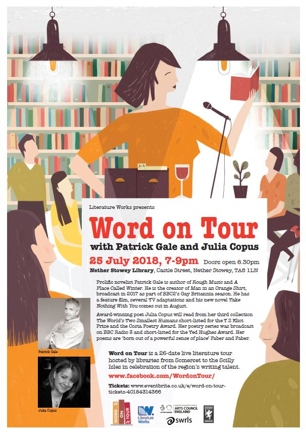Patrick Gale 'Word on Tour' Author Talk with Julia Copus