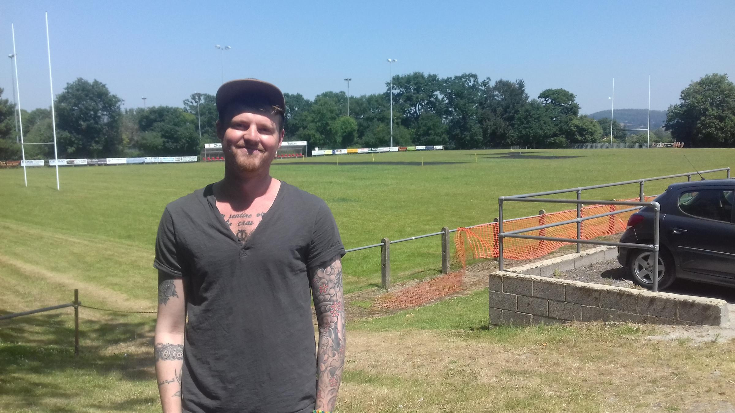 ORGANISER: Jack Humphries at the new venue