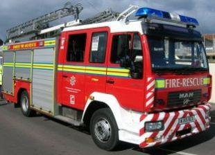 Person stuck in lift in Yeovil