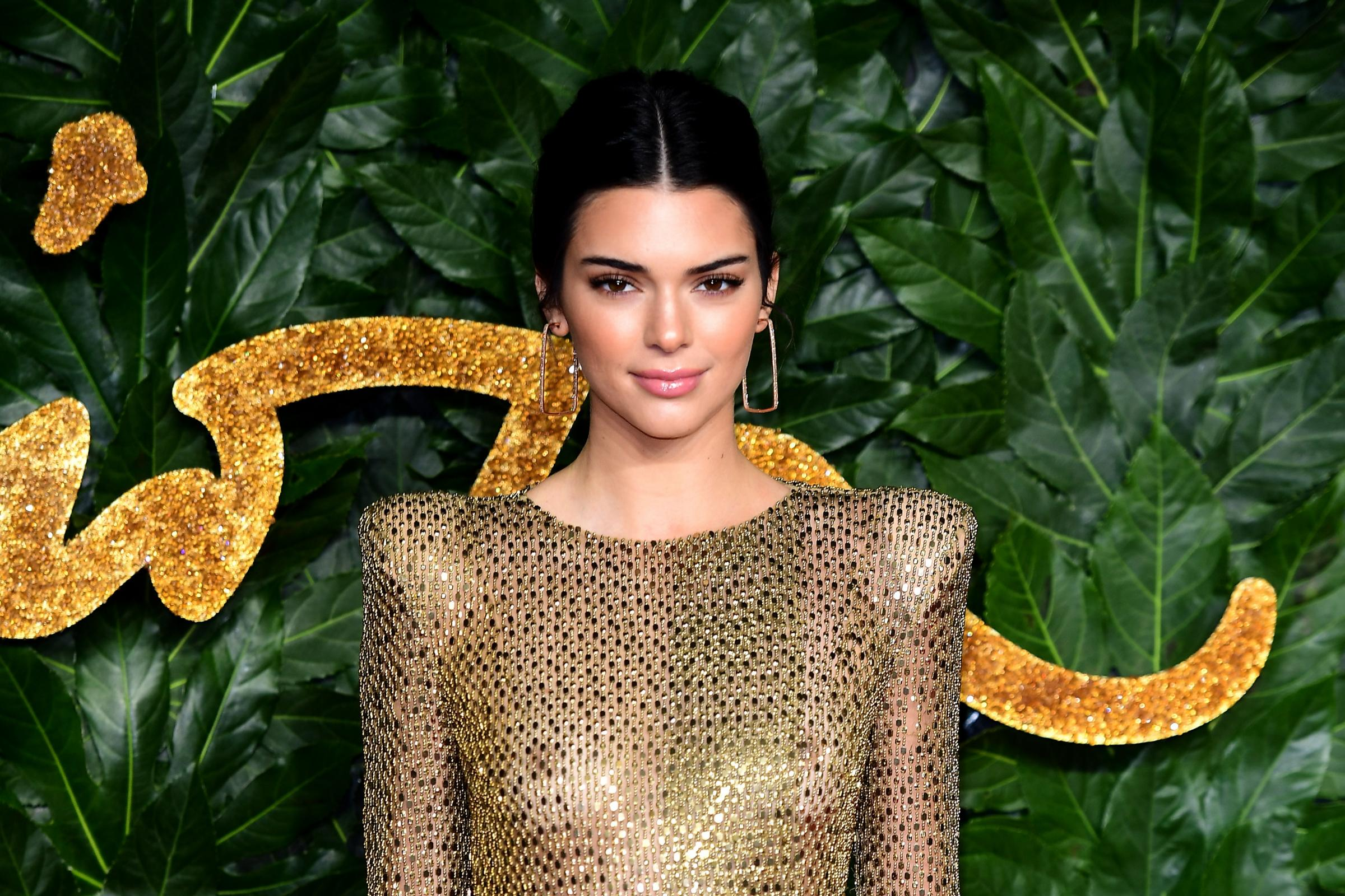 Kendall Jenner at the Fashion Awards
