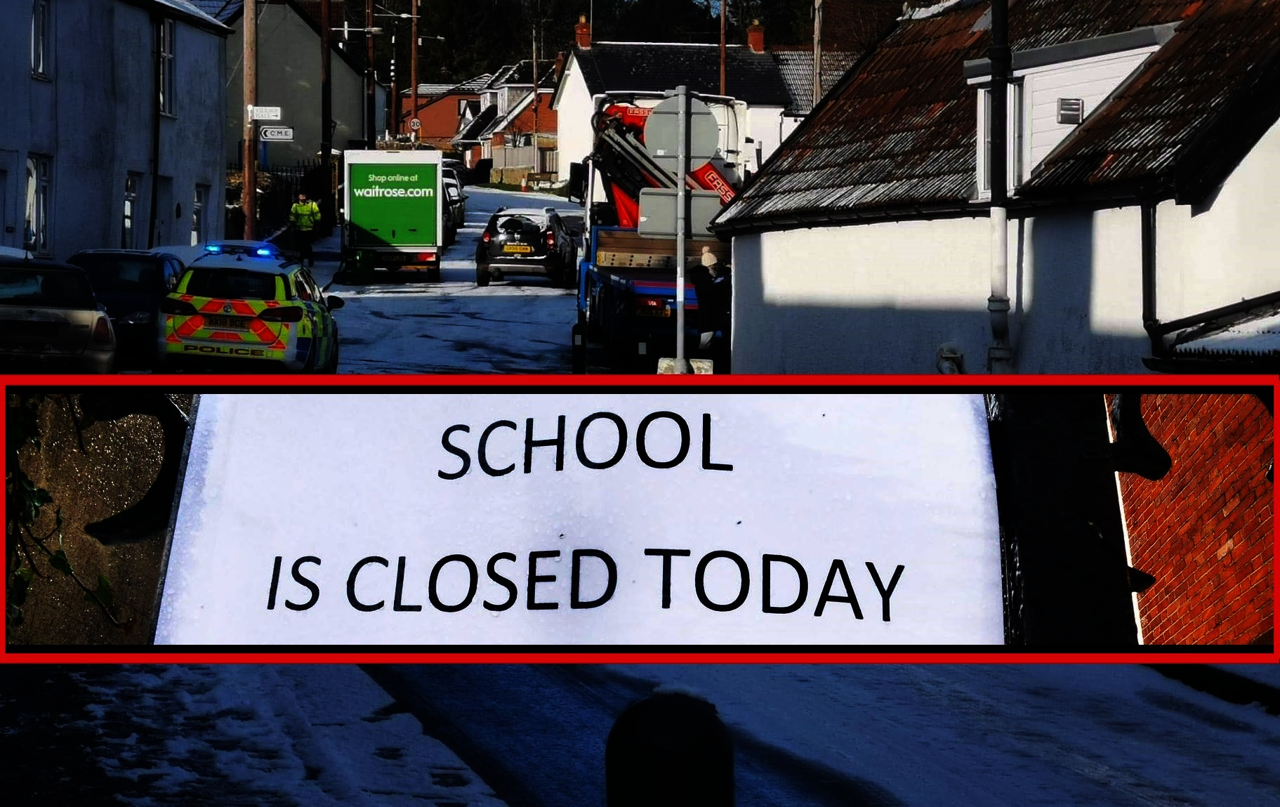 CLOSED: Combe St Nicholas was the first school to close, and is now being followed by others across South Somerset