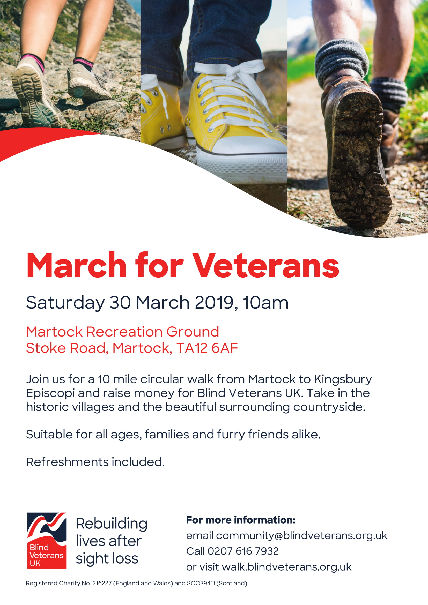 March For Veterans Walk