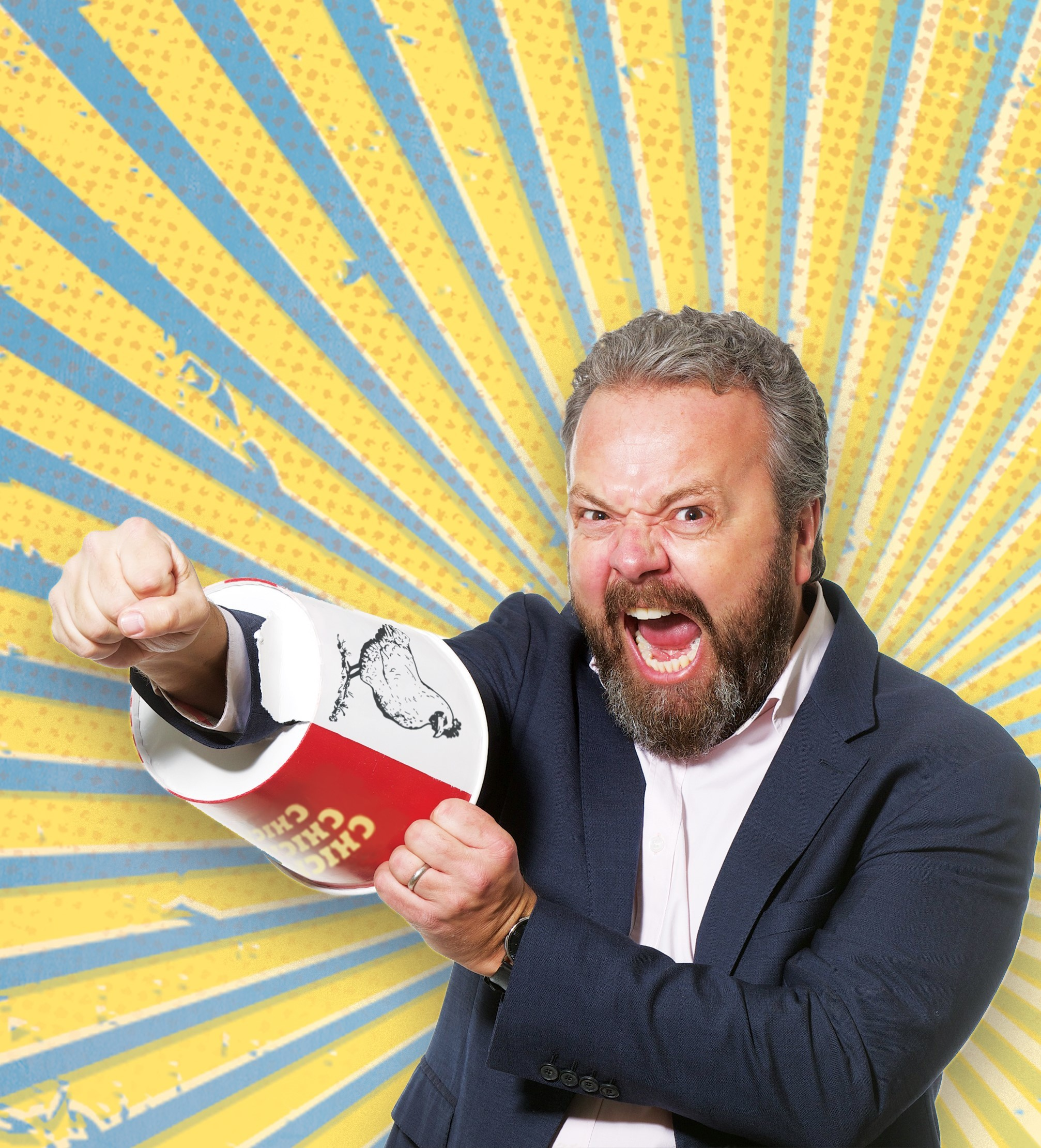 Wells comedy festival welcomes Hal Cruttenden