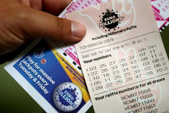 UNCLAIMED: A ticket bought in Somerset has won a prize of £1,000,000 - but it has not been claimed
